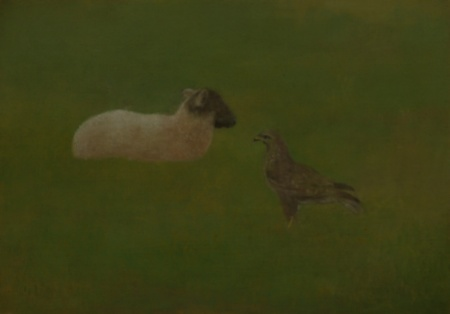 Study series (Lamb and buzzard)